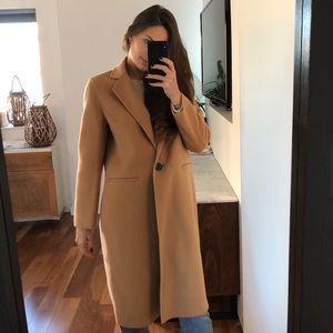Camel Merino Wool Coat